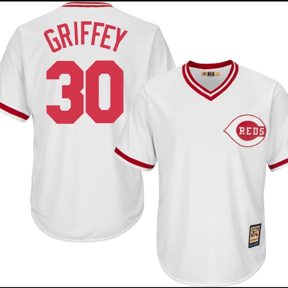 detailed look a1abc 7261b Brand NEW Ken Griffey Jr Cincinnati Reds jersey